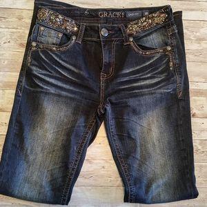 Grace in LA Easy Fit Jeans
